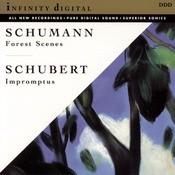 Waldszenen Op. 82; Four Impromptus, Op. 90; Papillons Op. 2 Songs