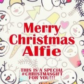 Merry Christmas Alfie - A Special #christmasgift For You Songs