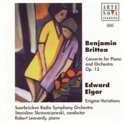 Britten: Concerto For Piano And Orch. op. 13/Elgar: Enigma Variations op. 36 Songs