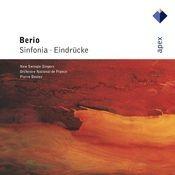 Berio : Sinfonia & Eindrücke Songs