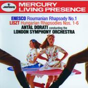 Enesco Roumanian Rhapsody No 1 Liszt Hungarian Rhapsodies Nos 1 6 Songs