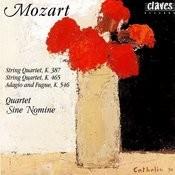 Wolfgang Amadeus Mozart: String Quartet, K. 387 / String Quartet, K. 465 / Adagio & Fugue, K. 546 Songs