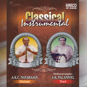 Carnatic Classical - Instrumental. Songs