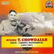 Violin - Carnatic Instrumental Songs