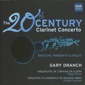 20th Century Clarinet Concertos: Bavicchi, Hindemith & Wolff Songs