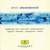 Shostakovich: Symphonies 1 & 5; Jazz Suite; Piano Concerto 1; String Quartet 11 Songs