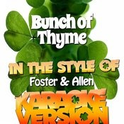 Bunch Of Thyme (In The Style Of Foster & Allen) [Karaoke Version] - Single Songs