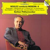 Boulez conducts Webern II Songs