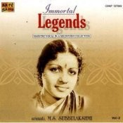 Immortal Legends - M S Subbulakshmi Vol 2 Songs