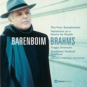 Brahms : Symphonies Nos 1-4 & Orchestral Works Songs