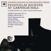Sviatoslav Richter Plays Schumann, Chopin & Ravel - Live At Carnegie Hall (October 30, 1960) Songs