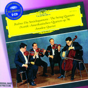 Brahms The String Quartets Dvorak Amerikanisches Quartett Op 96 Songs