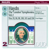 Haydn The London Symphonies Vol 2 Songs