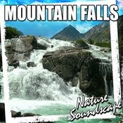 Powerful Roar Of The Mountain Waterfall Provides Stress Relief Song