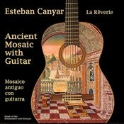 Ancient Mosaic With Guitar Songs