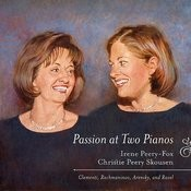 Passion At Two Pianos: Clementi, Rachmaninoff, Arensky, And Ravel Songs