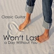Won't Last A Day Without You: Classic Instrumental Guitar Songs