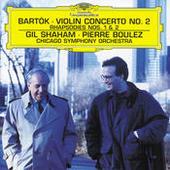 Bartók: Violin Concerto No.2; Rhapsodies Songs