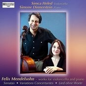Felix Mendelssohn - Works For Cello And Piano Songs