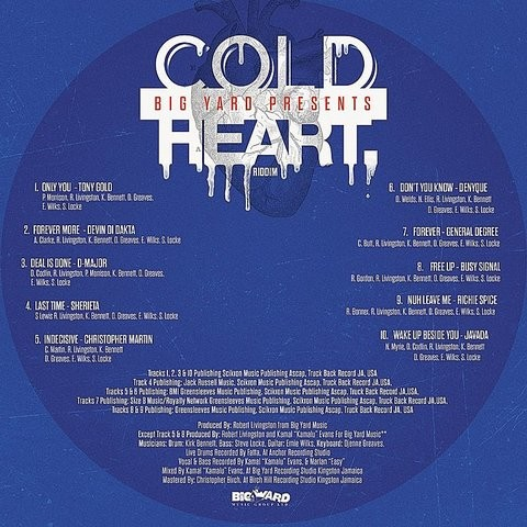 Cold Heart Riddim Songs Download: Cold Heart Riddim MP3