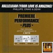 Hallelujah (Your Love Is Amazing) (Performance Tracks) Songs