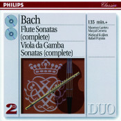 Bach, J.S.: The Flute Sonatas/The Viola da Gamba Sonatas Songs