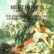 Beethoven: Piano Quartets In C Major, E-Flat Major & D Major Songs