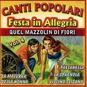 Canti Popolari Festa In Allegria Vol.4 Songs