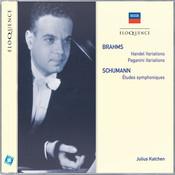 Brahms: Handel Variations; Paganini Variations / Schumann: Etudes Symphoniques Songs