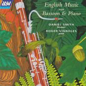 English Music for Bassoon & Piano Songs