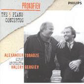 Prokofiev: The Five Piano Concertos (2 Cds) Songs
