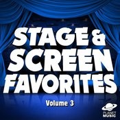 Stage And Screen Favorites, Vol. 3 Songs