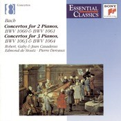 Essential Classics IX Bach: Concertos For 2 & 3 Pianos Songs