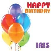 Happy Birthday Iris Song