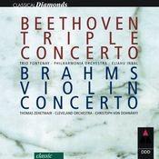 Beethoven : Triple Concerto & Brahms : Violin Concerto Songs