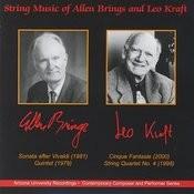 String Music of Allen Brings and Leo Kraft Songs
