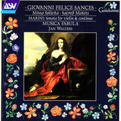 Sances: Missa Solicita; Sacred Motets Songs