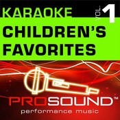 Karaoke - Children's Favorites, Vol. 1 (Professional Performance Tracks) Songs