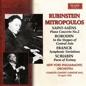 Rubinstein & Mitropoulos - Carnegie Hall 1953 Songs