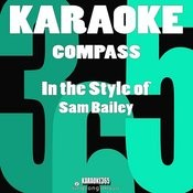 Compass (In The Style Of Sam Bailey) [Karaoke Version] - Single Songs