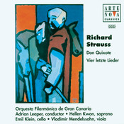 Richard Strauss: Don Quichotte op. 35 / Vier letze Lieder AV 150 Songs