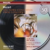 Mozart: The Horn Concertos; Oboe Concerto Songs