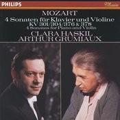 Mozart: 4 Violin Sonatas for Piano and Violin, Nos.18, 21, 24 & 26 Songs