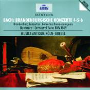 Bach, J.S.: Brandenburg Concertos Nos.4, 5 & 6; Overture No.4 Songs