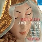 Händel - Caldara: Carmelite Vesper 1709 Songs