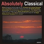 Mozart: Symphony Nos. 29 & 25/Mozart: Concerto For 2 Pianos No.10/Mozart: Violin Concerto No.1 Songs