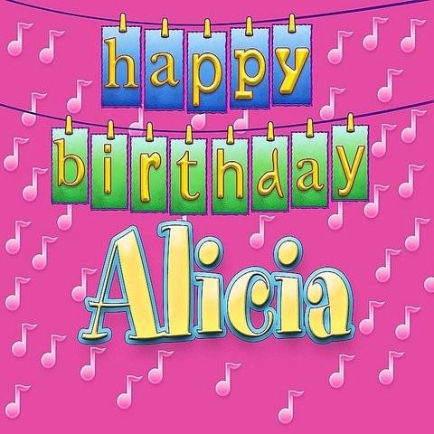 Картинки с днем рождения алисия