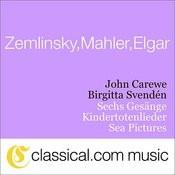 Gustav Mahler, Kindertotenlieder Songs