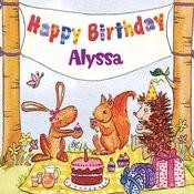 Happy Birthday Alyssa Songs