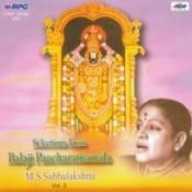 Subbulakshmi - Balaji Pancharatnamala 2 Songs